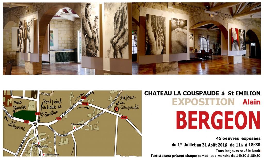 Expo chateau La Couspaude   -  Alain Bergeon